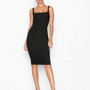 Nly One Double Layer Bodycon Kotelomekko Musta