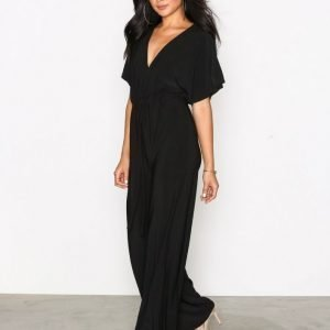 Nly One Kimono Sleeve Jumpsuit Musta