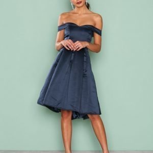Nly One Love Story Dress Skater Mekko Navy