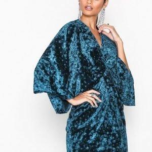 Nly One Luxe Star Dress Loose Fit Mekko Sininen
