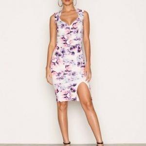Nly One Printed Sweetheart Dress Kotelomekko Kuviollinen