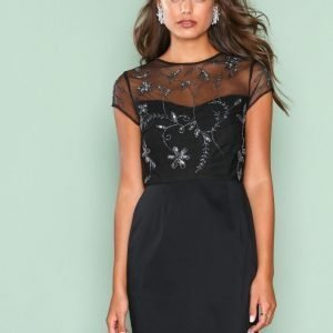 Nly One Starry Night Dress Kotelomekko Musta