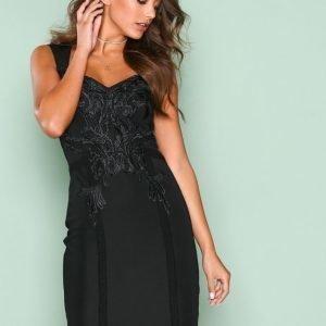 Nly One Sweet Lace Dress Kotelomekko Musta