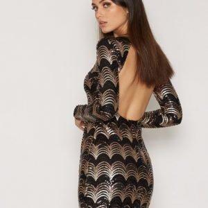 Nly Trend Artsy Sequin Dress Juhlamekko Kuviollinen