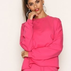Nly Trend Bounce Back Sweat Svetari Bright Pink