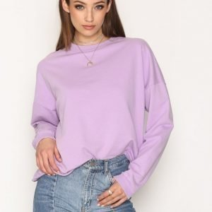 Nly Trend Bounce Back Sweat Svetari Lilac