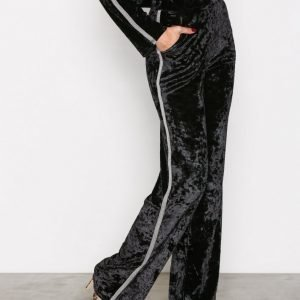 Nly Trend Brilliant Wide Pants Housut Musta