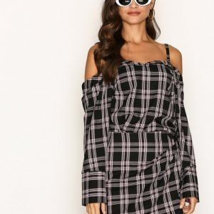 Nly Trend Check Me Out Blouse Arkipaita Ruudullinen