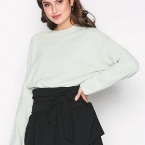 Nly Trend Chenille Perfect Knit Neulepusero Pistage