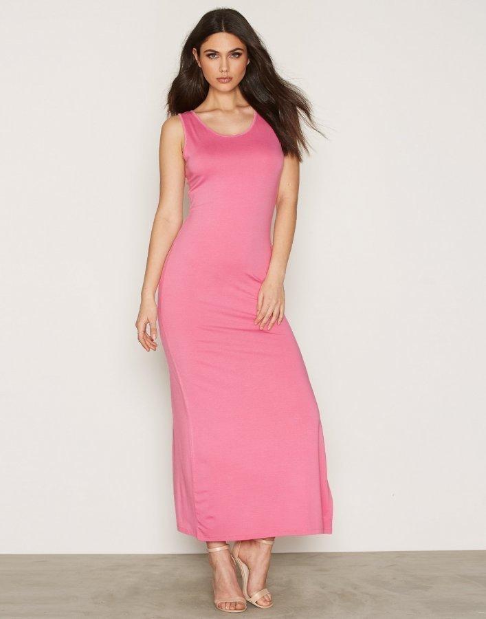Nly Trend Classy Maxi Dress Maksimekko Vaaleanpunainen ... c7ae198b0c