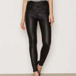 Nly Trend Close To Me Pants Housut Musta