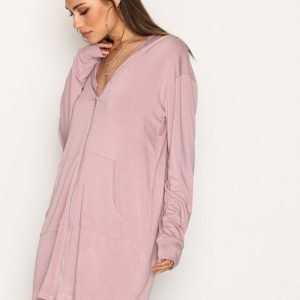 Nly Trend Cozy Couture Hoodie Huppari Mauve