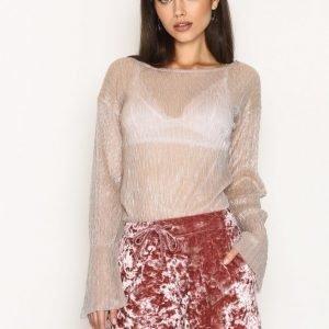 Nly Trend Crushed Lounge Shorts Shortsit Rose