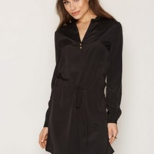 Nly Trend Detailed Shirt Dress Mekko Musta
