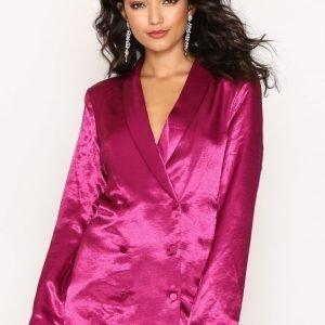 Nly Trend Dress You Up Blazer Jakku Fuchsia