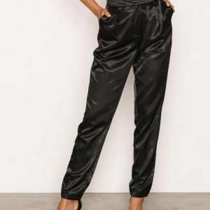 Nly Trend Dress You Up Pants Housut Musta