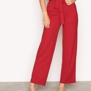 Nly Trend Dressed Wide Pants Housut Lollipop