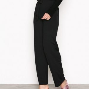 Nly Trend Dressed Wide Pants Housut Musta