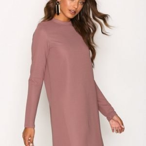 Nly Trend Easy Life Dress Loose Fit Mekko Dark Rose
