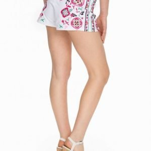 Nly Trend Embroidered Shorts Shortsit Multi
