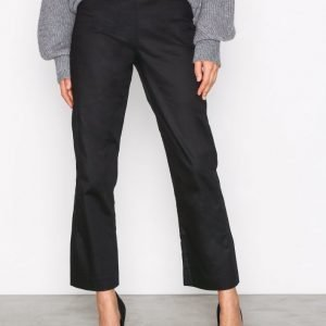Nly Trend Essential Pants Housut Musta