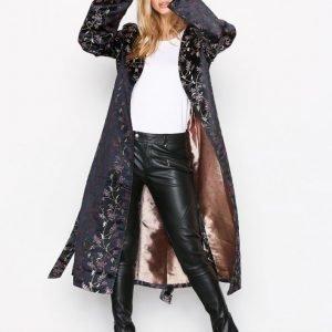 Nly Trend Fancy Kimono Jakku Mustakuviollinen