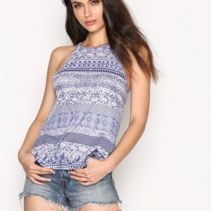 Nly Trend Flowy Print Top Toppi Paisley