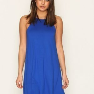 Nly Trend Flowy Strap Dress Loose Fit Mekko Cobolt Blue