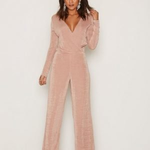 Nly Trend Glamorous Jumpsuit Rose