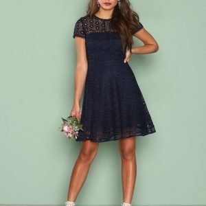 Nly Trend Graduation Dress Skater Mekko Navy