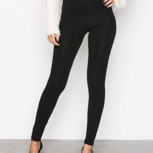Nly Trend High Waist Leggings Leggingsit Musta