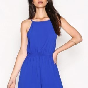 Nly Trend Hot Day Play Suit Playsuit Sininen