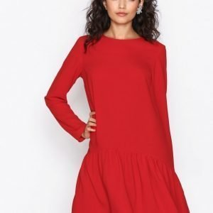 Nly Trend I Can Jive Dress Pitkähihainen Mekko Punainen