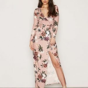 Nly Trend Jersey Printed Maxi Dress Maksimekko Flowers