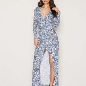 Nly Trend Jersey Printed Maxi Dress Maksimekko Paisley