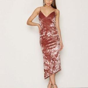 Nly Trend Lady In Pink Dress Maksimekko Vaaleanpunainen