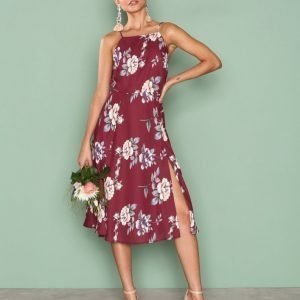 Nly Trend Less Is More Dress Loose Fit Mekko Kuviollinen