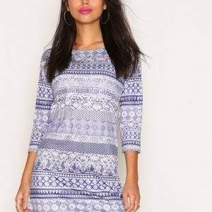 Nly Trend Love Yourself Dress Pitkähihainen Mekko Paisley