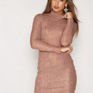 Nly Trend Off Duty Luxury Dress Juhlamekko Copper