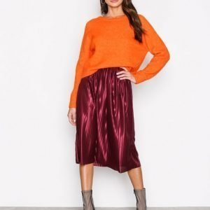 Nly Trend Pleated Skirt Midihame Violetti