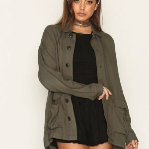 Nly Trend Run This Town Jacket Jakku Olive