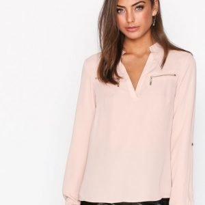 Nly Trend Soft Day Blouse Arkipaita Beige