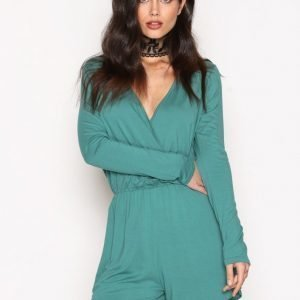 Nly Trend Summer Playsuit Vihreä