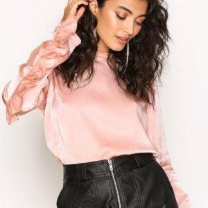 Nly Trend The Look Blouse Arkipaita Vaalea Pinkki