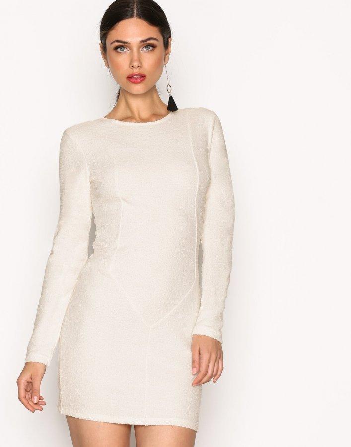 Nly Trend Thirsty Mini Dress Kotelomekko Valkoinen - Vaatekauppa24.fi fcfc47e42a
