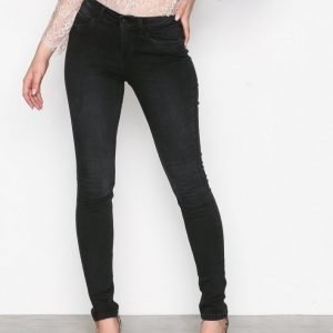 Noisy May Nmlucy S.S. Nw Vi876 Jeans Noos Skinny Farkut Musta