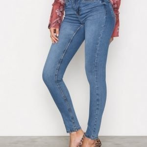 Noisy May Nmlucy S.S. Nw Vi878 Jeans Noos Housut Sininen
