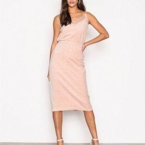 Noisy May Nmstella Nw Trend Skirt Vipx Minihame Vaalea Pinkki