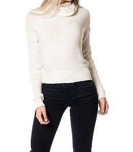 Noisy may Arrow Rollneck Knit Snow White