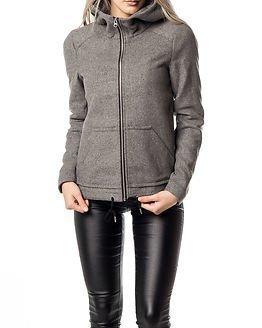 Noisy may Canvas L/S Jacket Medium Grey Melange